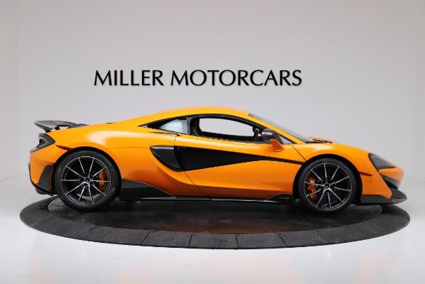 New 2019 McLaren 600LT for sale $279,310 at Bugatti of Greenwich in Greenwich CT 06830 9