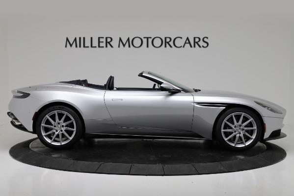 Used 2019 Aston Martin DB11 Volante for sale $204,900 at Bugatti of Greenwich in Greenwich CT 06830 9