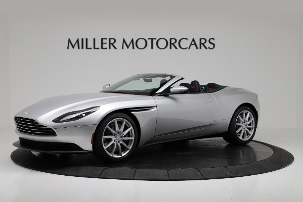 Used 2019 Aston Martin DB11 Volante for sale $204,900 at Bugatti of Greenwich in Greenwich CT 06830 1