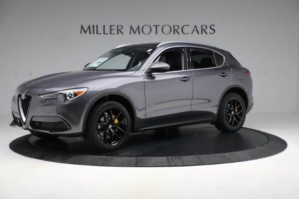 New 2019 Alfa Romeo Stelvio Ti Q4 for sale Sold at Bugatti of Greenwich in Greenwich CT 06830 2
