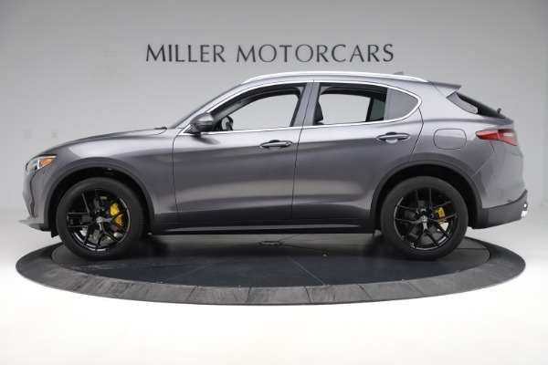 New 2019 Alfa Romeo Stelvio Ti Q4 for sale Sold at Bugatti of Greenwich in Greenwich CT 06830 3