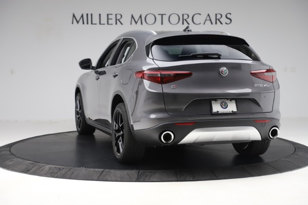 New 2019 Alfa Romeo Stelvio Ti Q4 for sale Sold at Bugatti of Greenwich in Greenwich CT 06830 5