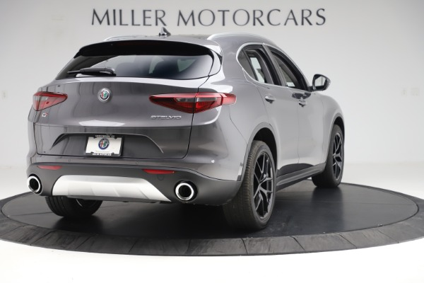 New 2019 Alfa Romeo Stelvio Ti Q4 for sale Sold at Bugatti of Greenwich in Greenwich CT 06830 7