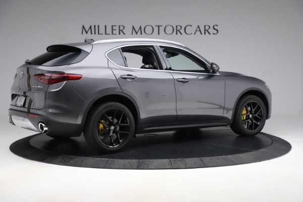 New 2019 Alfa Romeo Stelvio Ti Q4 for sale Sold at Bugatti of Greenwich in Greenwich CT 06830 8
