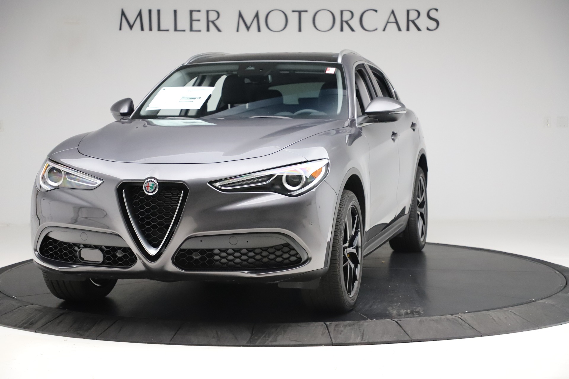 New 2019 Alfa Romeo Stelvio Ti Q4 for sale Sold at Bugatti of Greenwich in Greenwich CT 06830 1