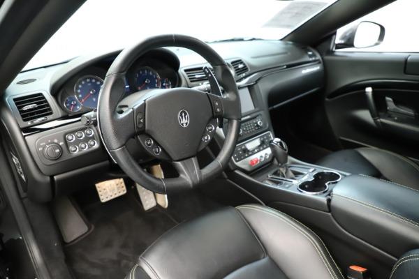 Used 2013 Maserati GranTurismo Sport for sale Sold at Bugatti of Greenwich in Greenwich CT 06830 13