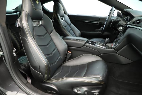 Used 2013 Maserati GranTurismo Sport for sale Sold at Bugatti of Greenwich in Greenwich CT 06830 21