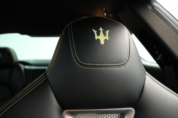 Used 2013 Maserati GranTurismo Sport for sale Sold at Bugatti of Greenwich in Greenwich CT 06830 22