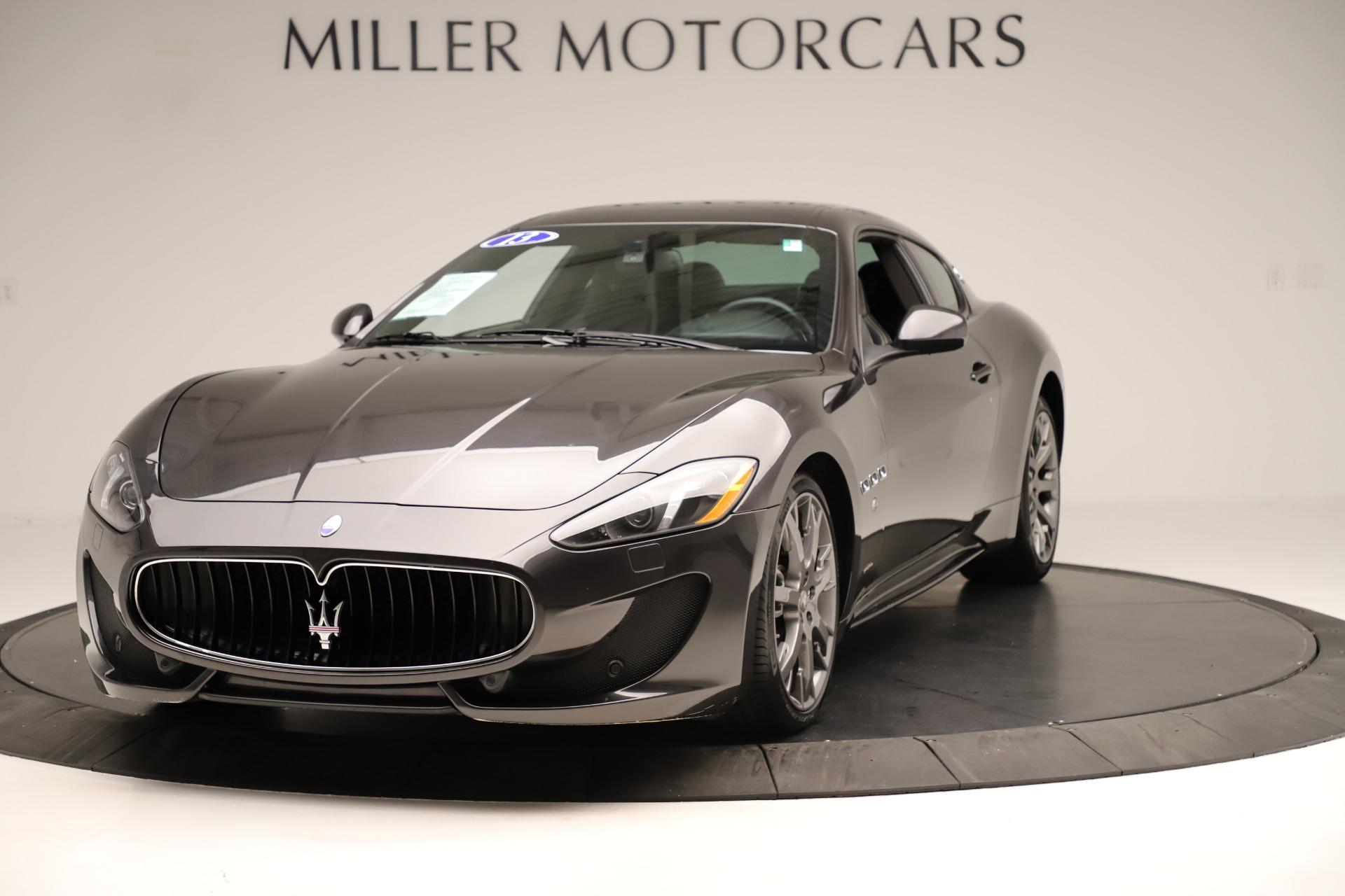 Used 2013 Maserati GranTurismo Sport for sale Sold at Bugatti of Greenwich in Greenwich CT 06830 1
