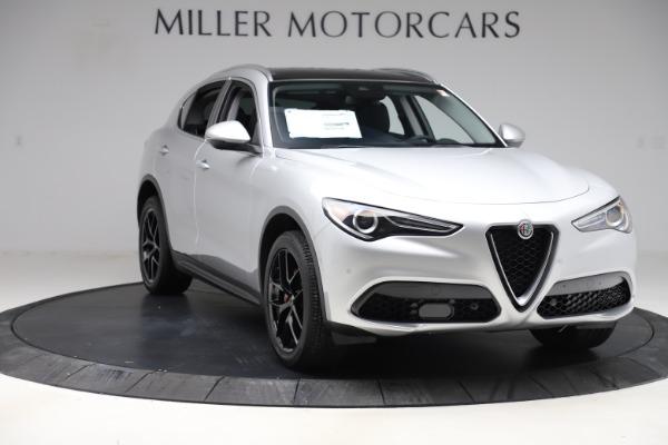New 2019 Alfa Romeo Stelvio Ti Q4 for sale Sold at Bugatti of Greenwich in Greenwich CT 06830 11
