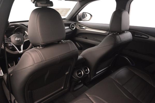 New 2019 Alfa Romeo Stelvio Ti Q4 for sale Sold at Bugatti of Greenwich in Greenwich CT 06830 20