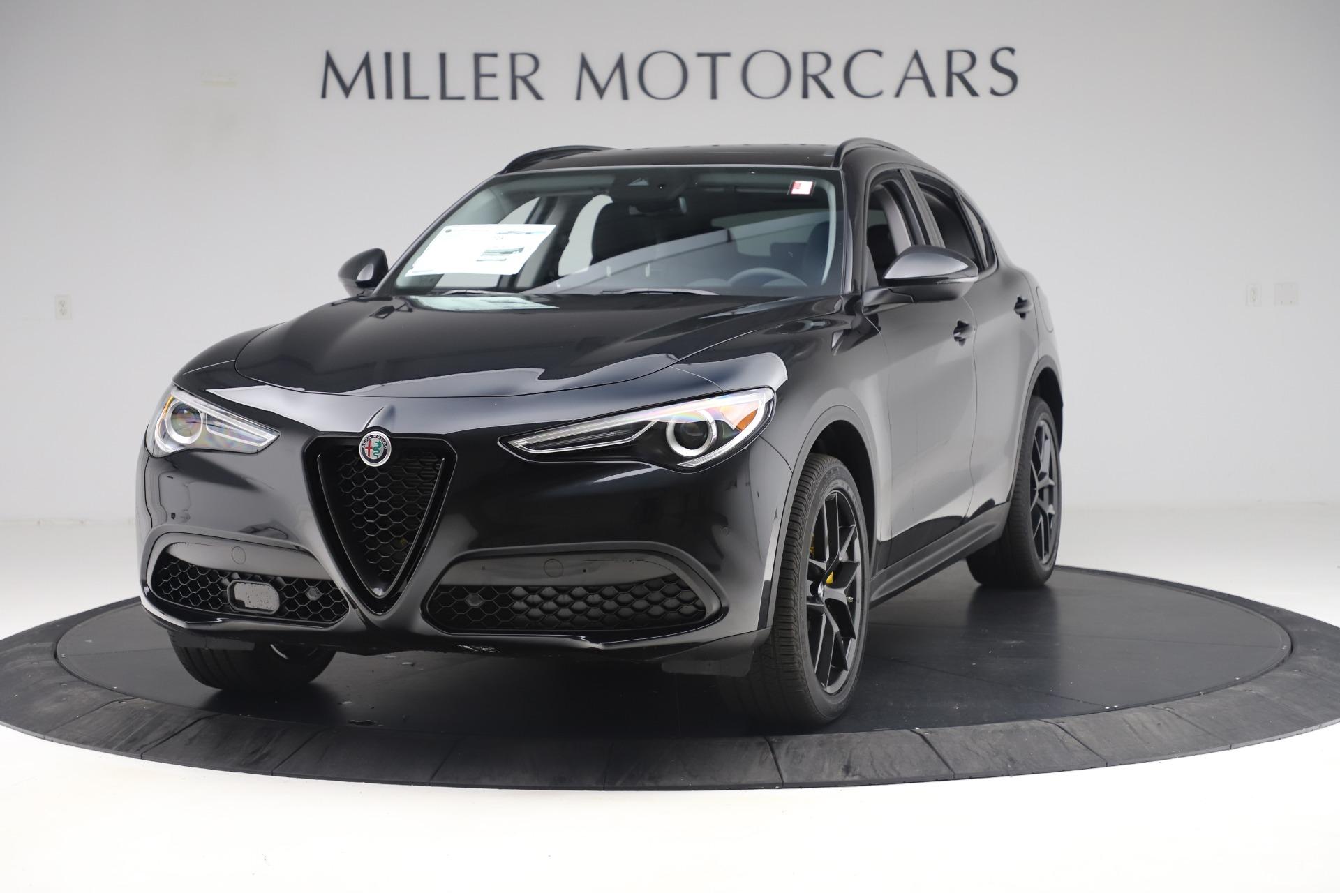 New 2019 Alfa Romeo Stelvio Ti Q4 for sale Sold at Bugatti of Greenwich in Greenwich CT 06830 1