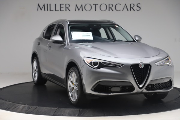 New 2019 Alfa Romeo Stelvio Ti Lusso Q4 for sale Sold at Bugatti of Greenwich in Greenwich CT 06830 11
