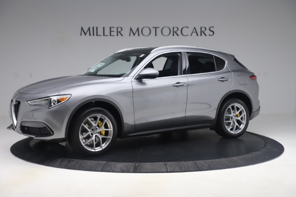 New 2019 Alfa Romeo Stelvio Ti Lusso Q4 for sale Sold at Bugatti of Greenwich in Greenwich CT 06830 2
