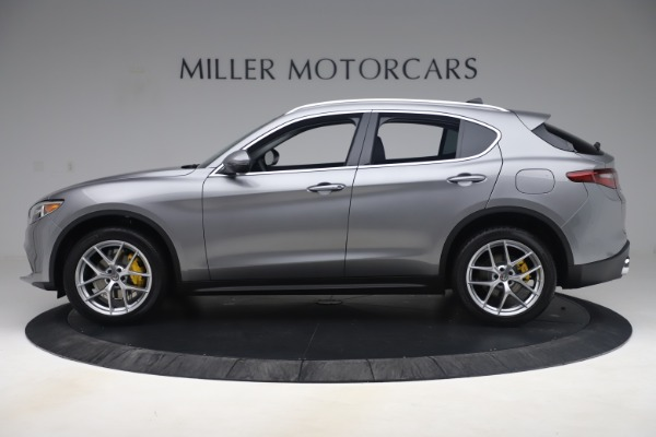 New 2019 Alfa Romeo Stelvio Ti Lusso Q4 for sale Sold at Bugatti of Greenwich in Greenwich CT 06830 3
