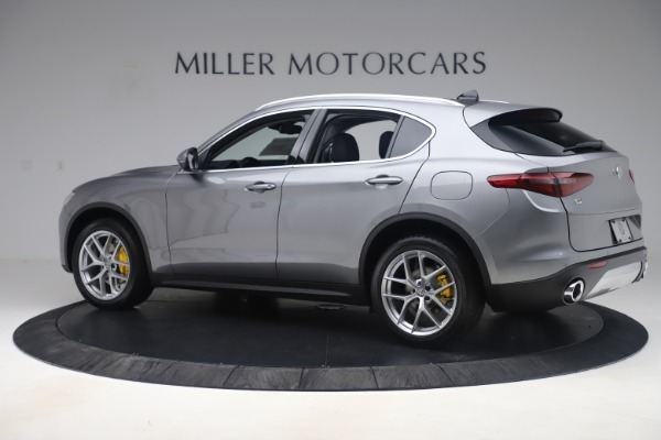 New 2019 Alfa Romeo Stelvio Ti Lusso Q4 for sale Sold at Bugatti of Greenwich in Greenwich CT 06830 4