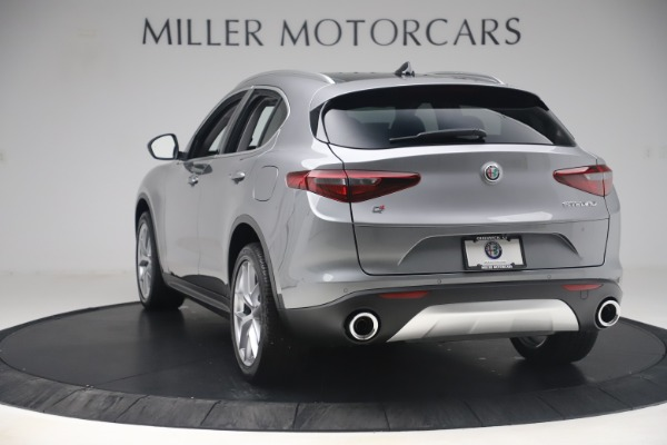 New 2019 Alfa Romeo Stelvio Ti Lusso Q4 for sale Sold at Bugatti of Greenwich in Greenwich CT 06830 5