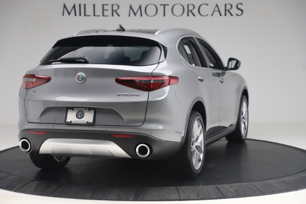 New 2019 Alfa Romeo Stelvio Ti Lusso Q4 for sale Sold at Bugatti of Greenwich in Greenwich CT 06830 7