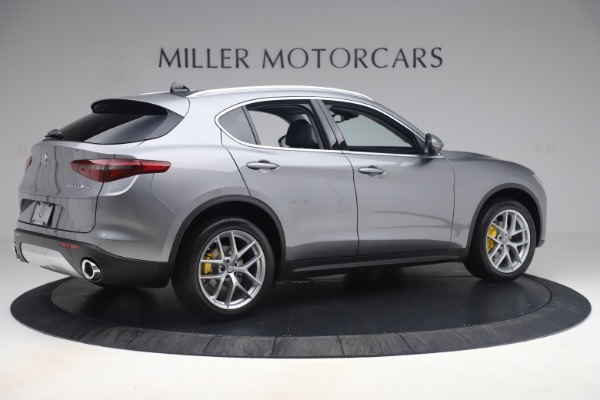 New 2019 Alfa Romeo Stelvio Ti Lusso Q4 for sale Sold at Bugatti of Greenwich in Greenwich CT 06830 8