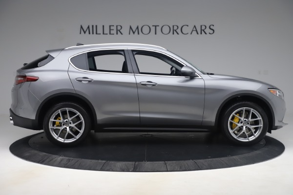 New 2019 Alfa Romeo Stelvio Ti Lusso Q4 for sale Sold at Bugatti of Greenwich in Greenwich CT 06830 9