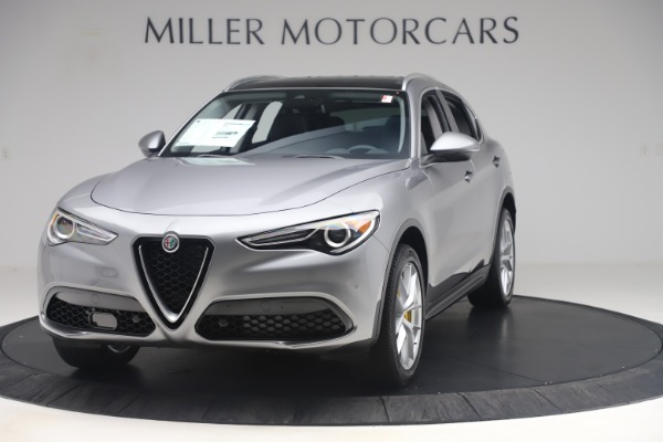 New 2019 Alfa Romeo Stelvio Ti Lusso Q4 for sale Sold at Bugatti of Greenwich in Greenwich CT 06830 1