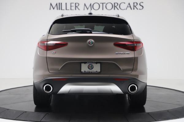 New 2019 Alfa Romeo Stelvio Ti Sport Q4 for sale Sold at Bugatti of Greenwich in Greenwich CT 06830 6