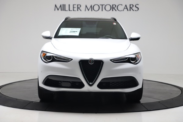 New 2019 Alfa Romeo Stelvio Ti Sport Q4 for sale Sold at Bugatti of Greenwich in Greenwich CT 06830 12