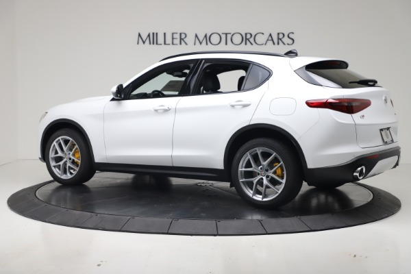 New 2019 Alfa Romeo Stelvio Ti Sport Q4 for sale Sold at Bugatti of Greenwich in Greenwich CT 06830 4