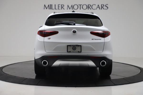 New 2019 Alfa Romeo Stelvio Ti Sport Q4 for sale Sold at Bugatti of Greenwich in Greenwich CT 06830 6
