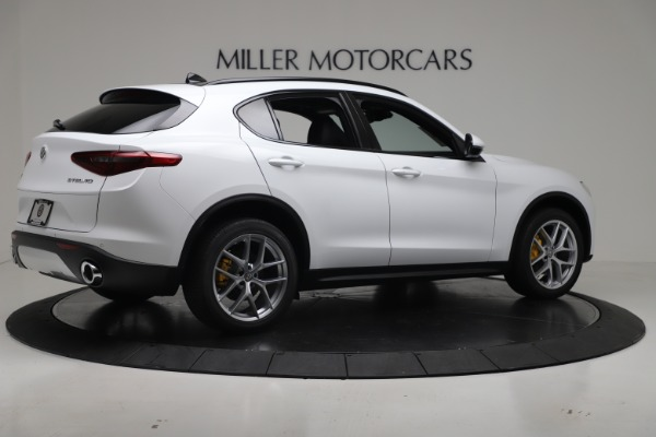 New 2019 Alfa Romeo Stelvio Ti Sport Q4 for sale Sold at Bugatti of Greenwich in Greenwich CT 06830 8
