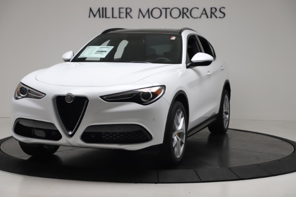 New 2019 Alfa Romeo Stelvio Ti Sport Q4 for sale Sold at Bugatti of Greenwich in Greenwich CT 06830 1