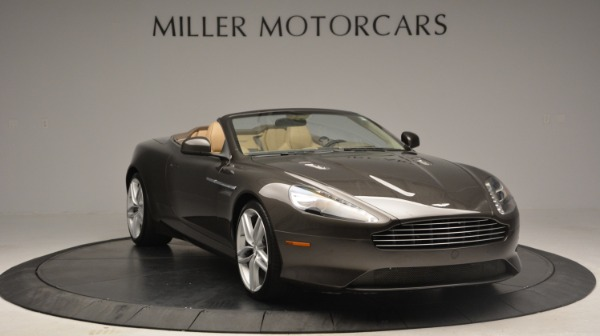 Used 2012 Aston Martin Virage Convertible for sale Sold at Bugatti of Greenwich in Greenwich CT 06830 11