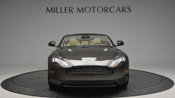 Used 2012 Aston Martin Virage Convertible for sale Sold at Bugatti of Greenwich in Greenwich CT 06830 12