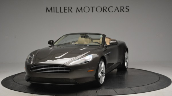 Used 2012 Aston Martin Virage Convertible for sale Sold at Bugatti of Greenwich in Greenwich CT 06830 13