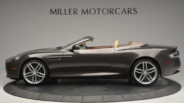 Used 2012 Aston Martin Virage Convertible for sale Sold at Bugatti of Greenwich in Greenwich CT 06830 3
