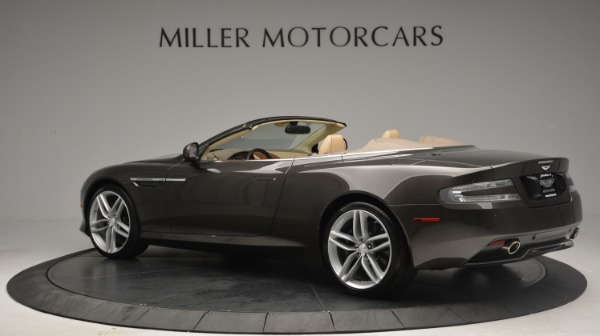 Used 2012 Aston Martin Virage Convertible for sale Sold at Bugatti of Greenwich in Greenwich CT 06830 4