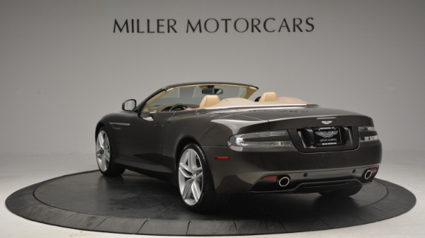 Used 2012 Aston Martin Virage Convertible for sale Sold at Bugatti of Greenwich in Greenwich CT 06830 5