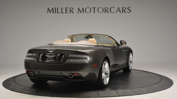 Used 2012 Aston Martin Virage Convertible for sale Sold at Bugatti of Greenwich in Greenwich CT 06830 7