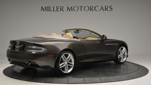 Used 2012 Aston Martin Virage Convertible for sale Sold at Bugatti of Greenwich in Greenwich CT 06830 8
