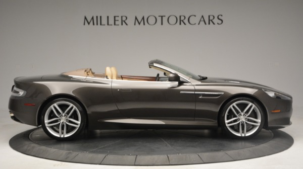 Used 2012 Aston Martin Virage Convertible for sale Sold at Bugatti of Greenwich in Greenwich CT 06830 9