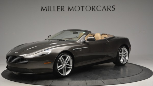 Used 2012 Aston Martin Virage Convertible for sale Sold at Bugatti of Greenwich in Greenwich CT 06830 1
