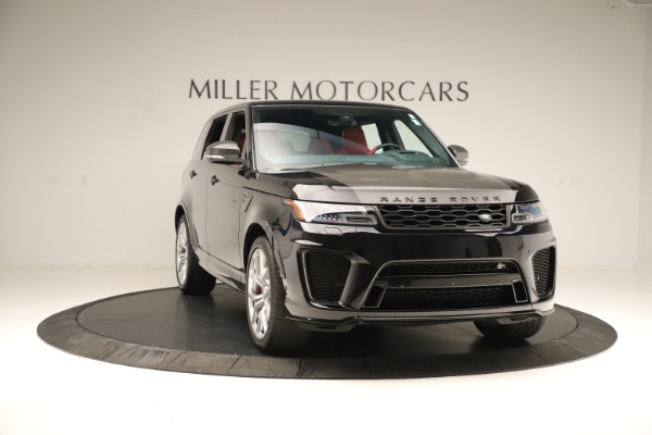 Used 2019 Land Rover Range Rover Sport SVR for sale Sold at Bugatti of Greenwich in Greenwich CT 06830 11