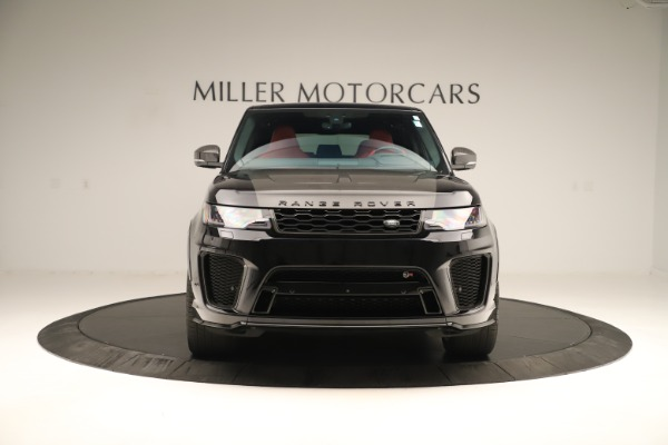 Used 2019 Land Rover Range Rover Sport SVR for sale Sold at Bugatti of Greenwich in Greenwich CT 06830 12