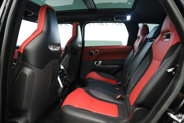 Used 2019 Land Rover Range Rover Sport SVR for sale Sold at Bugatti of Greenwich in Greenwich CT 06830 17