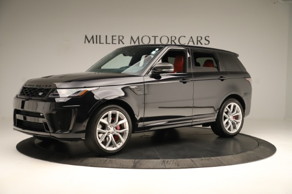 Used 2019 Land Rover Range Rover Sport SVR for sale Sold at Bugatti of Greenwich in Greenwich CT 06830 2
