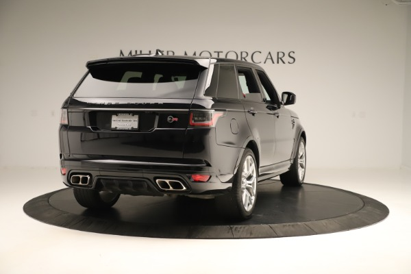 Used 2019 Land Rover Range Rover Sport SVR for sale Sold at Bugatti of Greenwich in Greenwich CT 06830 7