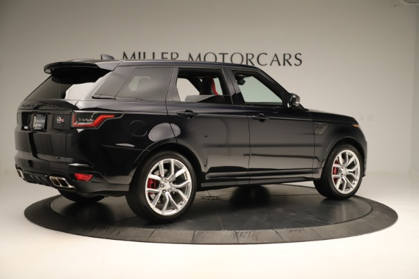 Used 2019 Land Rover Range Rover Sport SVR for sale Sold at Bugatti of Greenwich in Greenwich CT 06830 8