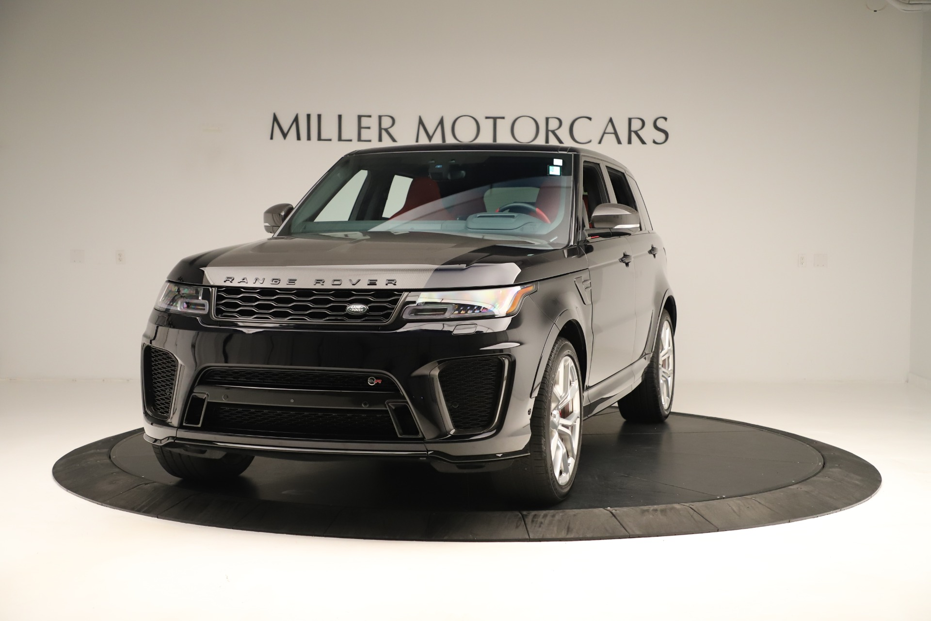 Used 2019 Land Rover Range Rover Sport SVR for sale Sold at Bugatti of Greenwich in Greenwich CT 06830 1