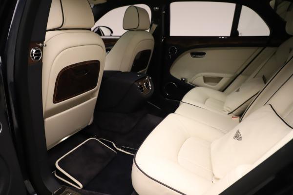 Used 2016 Bentley Mulsanne for sale $146,900 at Bugatti of Greenwich in Greenwich CT 06830 21