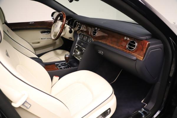 Used 2016 Bentley Mulsanne for sale $146,900 at Bugatti of Greenwich in Greenwich CT 06830 25